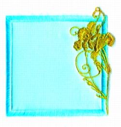 Border embroidery design