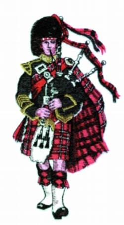 Piper embroidery design
