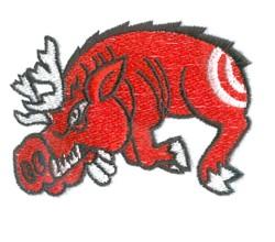 Road Kill Boar embroidery design