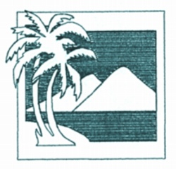 Palm Mountains embroidery design