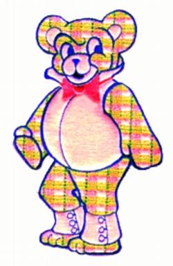 Bodacious Bear embroidery design
