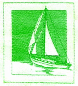 Large Sailboat embroidery design