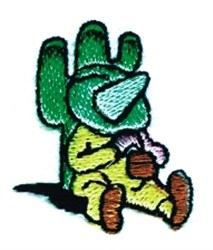Mexican Siesta embroidery design