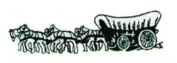 Conestoga Wagon embroidery design
