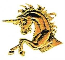 Unicorn Torso embroidery design