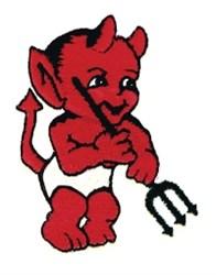Little Devil embroidery design