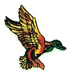 Landing Mallard embroidery design