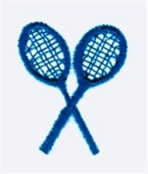Tennis Rackets embroidery design