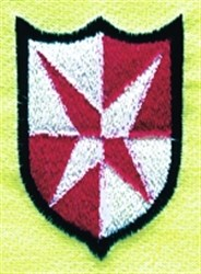 Star Shield embroidery design