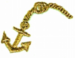 Anchor Chain embroidery design