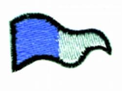 Triangular Burgy embroidery design