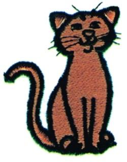 Cartoon CAT embroidery design