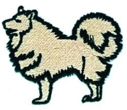 Cartoon Chow embroidery design