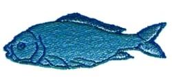 Cartoon Fish embroidery design