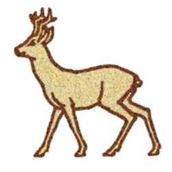 Cartoon Deer embroidery design