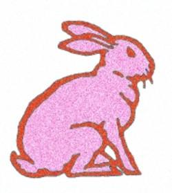 Cartoon Rabbit embroidery design