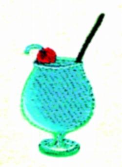 Adios Drink embroidery design