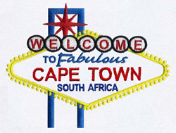Cape Town South Africa Embroidery Designs Machine