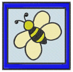 Quilt Block Bee embroidery design