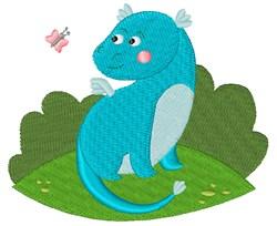 Spring Dragon embroidery design