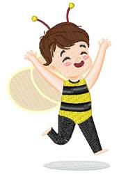 Bumblebee Halloween Costume embroidery design