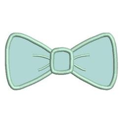 Bow Tie Applique embroidery design