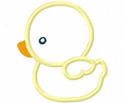 Baby Duck Applique embroidery design
