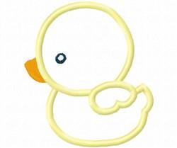 Baby Duck Applique embroidery design