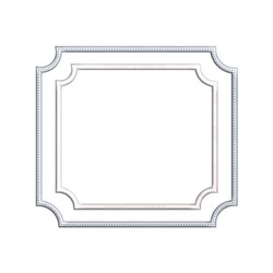 Monogram Frame embroidery design