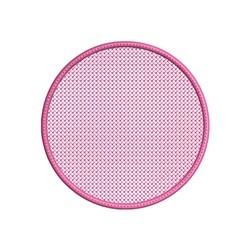 Embossed Circle embroidery design