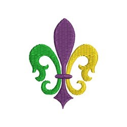 Mardi Gras embroidery design