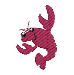 Mini Crawfish embroidery design