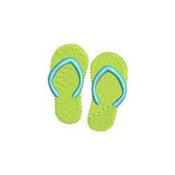 Mini Flip Flop embroidery design