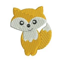 Mini Fox embroidery design