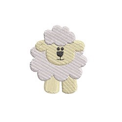 Mini Lamb embroidery design