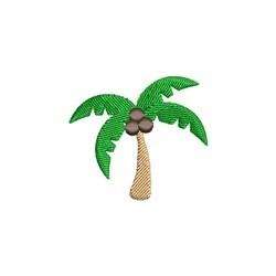 Mini Palm Tree embroidery design