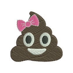 Mini Poop  embroidery design