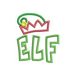 Elf Applique embroidery design