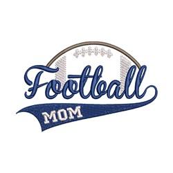 Football Mom embroidery design