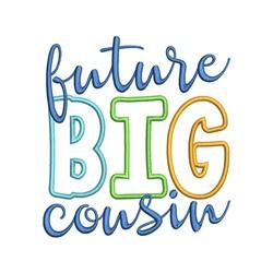 Future Big Cousin embroidery design
