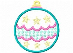 Ornament Applique embroidery design