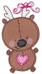 Baby Dolls Reindeer embroidery design