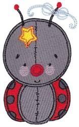 Baby Dolls Ladybug embroidery design