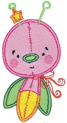 Baby Dolls Firefly embroidery design