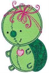 Baby Dolls Turtle embroidery design