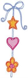 Baby Dolls Ribbon Border embroidery design
