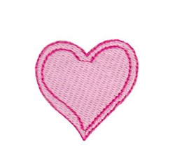 Baby Dolls Heart embroidery design