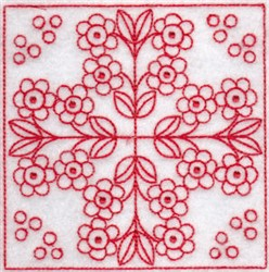 Spring Time Quilt Blocks embroidery design