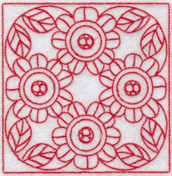 SpringTime Quilt Blocks embroidery design
