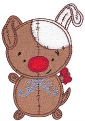 Baby Dolls Puppy embroidery design